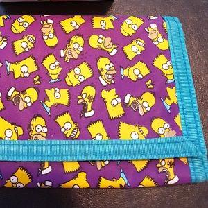 Vintage The Simpsons wallet c1990